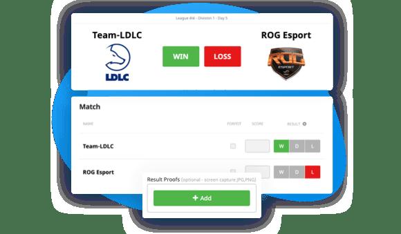 Rapport des résultats par les participants